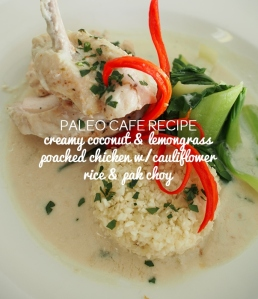 Creamy Coconut & Lemongrass Poached Chicken